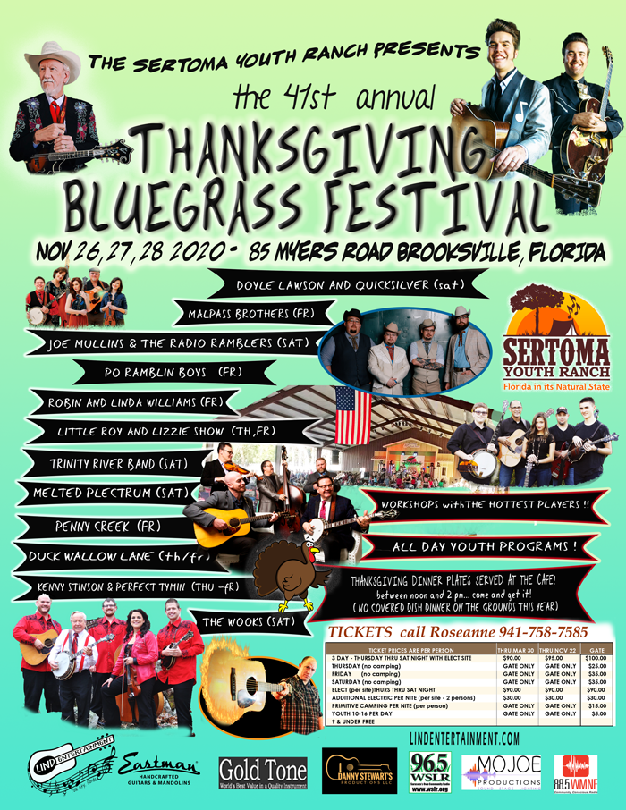 Thanksgiving Bluegrass Flyer